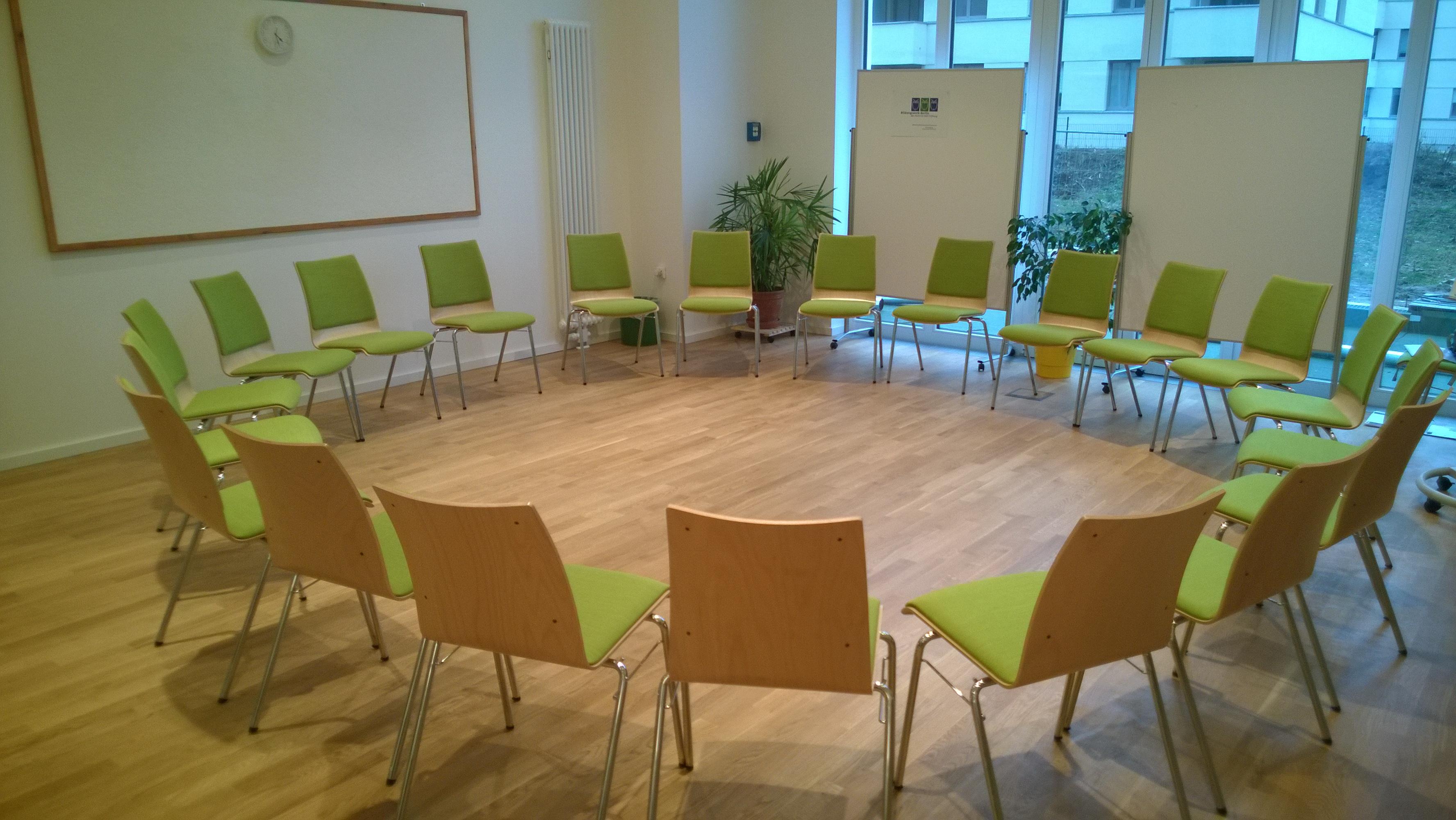 Seminarräume | Bildungswerk Berlin der Heinrich-Böll-Stiftung